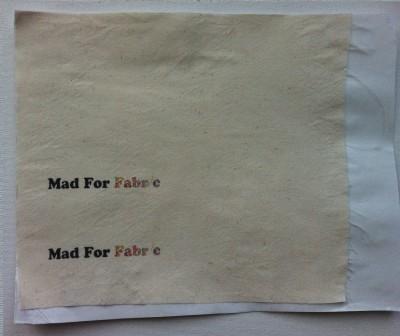 Liberty Fabric Scrap Art Printer Labels