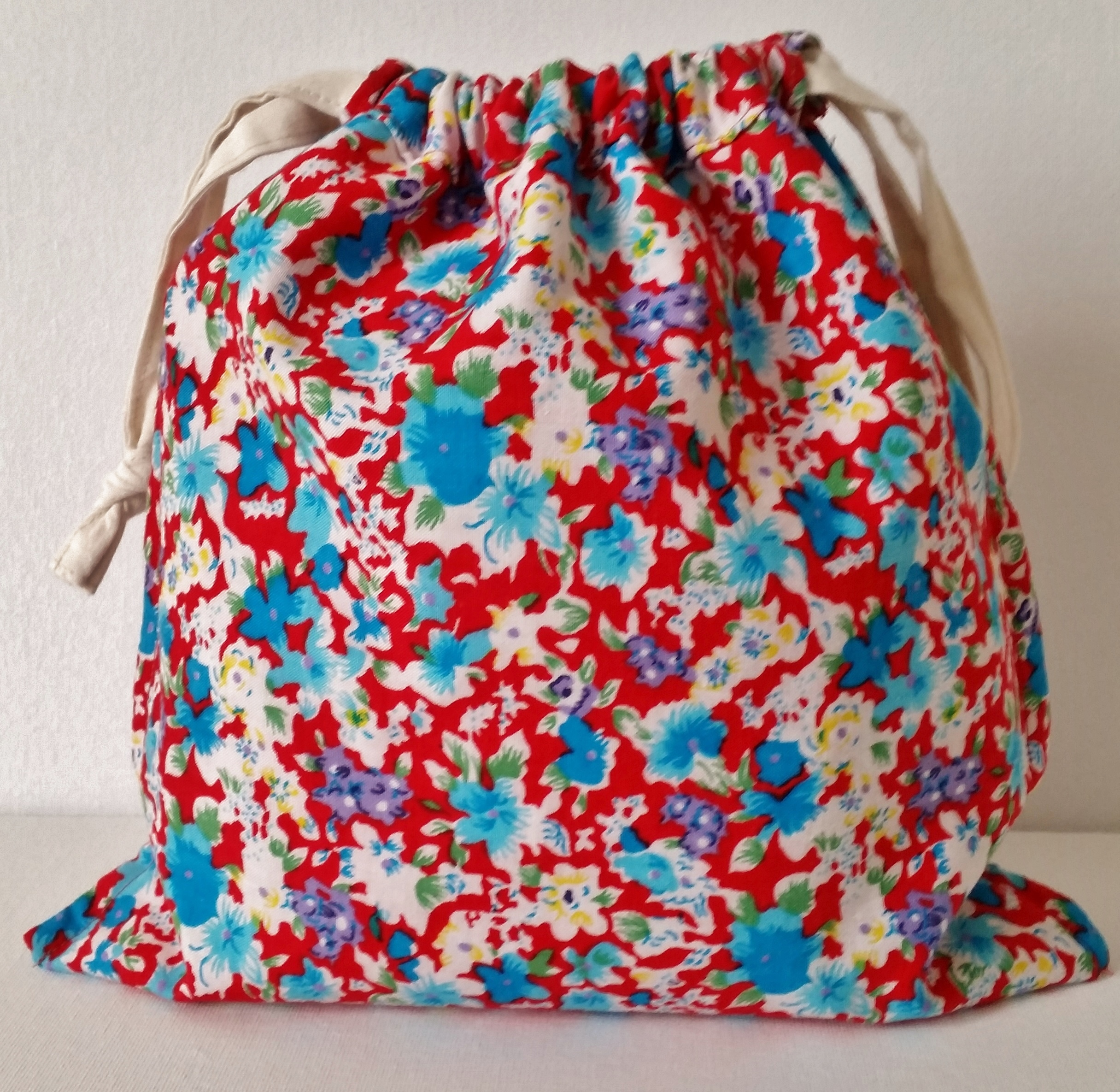 bag is reversible so when it's not Christmas, you can turn the bag ...