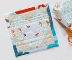 Mad For Fabric - Mini Heart Heather Ross Goldfish Mendocino