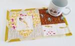 Mad For Fabric - Mini Heart Heather Ross Mermaid Mendocino Mug Rug