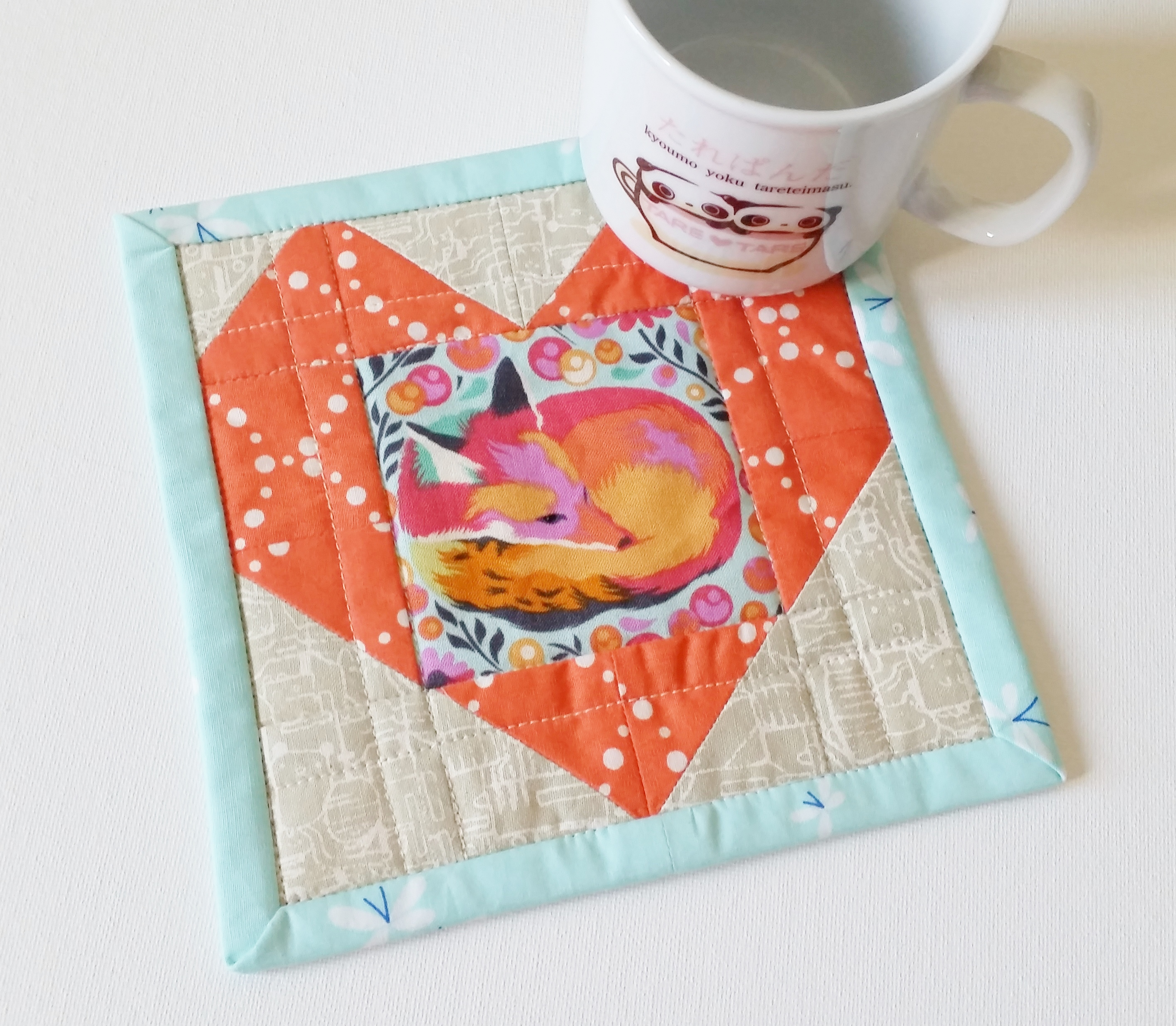 Tula Pink Chipper Mug Rug